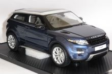 Range Rover Evoque Baltic Blue Resin Collectors Model Scale 1/18 LRDREBB118 P
